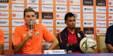 Julio Banuelos Fokus Bawa Persija Jakarta Menang atas PSIS Semarang