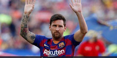 Klub Beckham Bertemu Sang Ayah, Messi Hengkang ke Amerika Serikat?