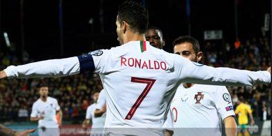 Cetak 4 Gol, Cristiano Ronaldo Jauhi Messi dan Dekati Rekor Ali Daei