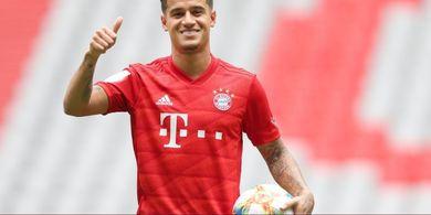 Performa Kurang Mengesankan, Bayern Muenchen Enggan Permanenkan Coutinho?