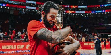 Jadi MVP FIBA World Cup, Ricky Rubio Puji Tim Nasional Spanyol