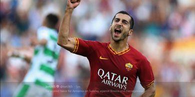 Langsung Cetak Gol Debut, Mkhitaryan Diharapkan Bertahan Lama di Roma