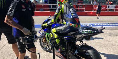 Valentino Rossi Sebut Akselerasi Motornya Masih Belum Mumpuni