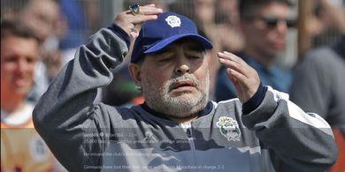 Kegiatan Maradona Selama Jalani Masa Karantina, Mulai dari Bersepeda hingga Bernostalgia