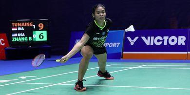 China Open 2019 - Gregoria Merasa Belum Berani Mengendalikan Laga