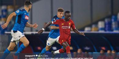 Napoli Vs Liverpool - The Reds Bermain Imbang  Tanpa Gol di Babak I