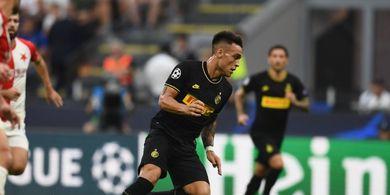 Inter Vs Slavia Praha - Tuan Rumah Minim Peluang, Skor 0-0 di Babak I
