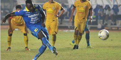 Janji King Eze bersama Persib di Liga 1 2019 Terancam Gagal Terpenuhi