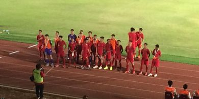 Pesta Gol, Timnas U-16 Indonesia Minim Selebrasi dan Ini Alasannya