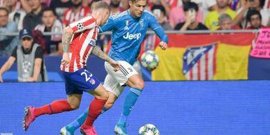 Kembali Diejek Fans Atletico, Cristiano Ronaldo Jelaskan Maksud Gestur yang Dibuatnya