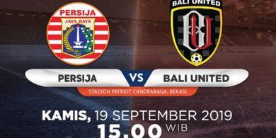 Link Live Streaming Persija Jakarta Vs Bali United, Ajang Reuni Stefano Cugurra