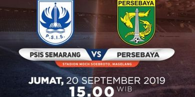 Link Live Streaming PSIS Semarang Vs Persebaya Surabaya, Laga Digelar Tanpa Penonton