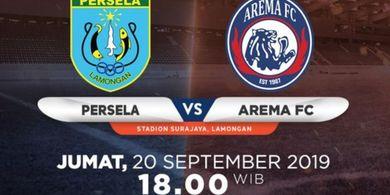 Link Live Streaming Persela Lamongan Vs Arema FC, Milomir Seslija Waspadai Kecepatan Tuan Rumah