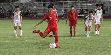 Susunan Pemain di Laga Timnas U-16 Indonesia Kontra China