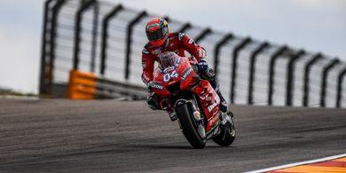 Tertinggal Jauh, Dovizioso Realistis soal Rivalitasnya dengan Marquez