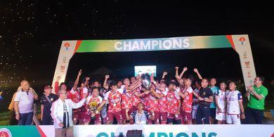 Kalahkan Wakil Riau, UPI Bandung Juarai Piala Menpora 2019
