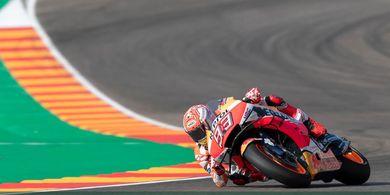 MotoGP Aragon 2019 - Menang Lagi, Marquez Enggan Bicara Gelar Juara