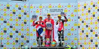 Podium Pertama di Malaysia, Pembalap Indonesia Pimpin Klasemen ARRC