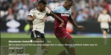 Hasil Liga Inggris - Dihantam West Ham, Man United Turun Peringkat