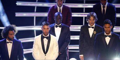 Soal Kirim Wakil, Madrid Kalahkan Barcelona di FIFA FIFPro XI 2019