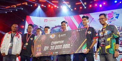 Tim Esports MAN 2 Model Medan dan SMK Muhammadiyah 1 Kepanjen Malang Raih Juara 1 Pada Turnamen Fruit Tea YNEC 2019