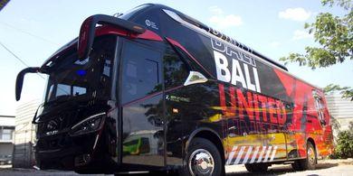 Bali United Siap Pakai Bus Baru Saat Laga Kandang Kontra Badak Lampung
