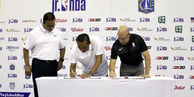 NBA dan Pemerintah Provinsi Dki Jakarta Jalin Kolaborasi Inovatif