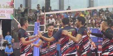 Dua Juara Bertahan Kejuaraan Livoli Divisi Utama ke Babak Final