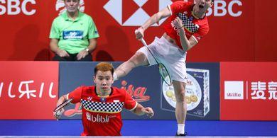 Denmark Open 2019 - Performa Memuaskan Antar Marcus/Kevin ke Final