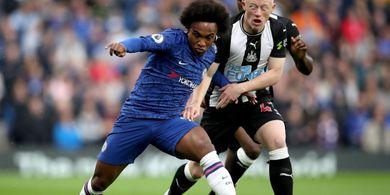 Minim Peluang, Chelsea Bermain Imbang 0-0 Lawan Newcastle Di Babak I