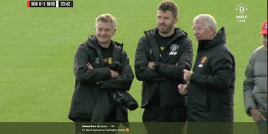 Manchester United vs Liverpool - Kunjungan Spesial Sir Alex Ferguson