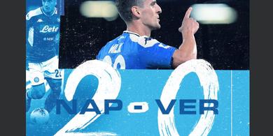 Hasil Liga Italia - Minta Main Lebih Lama, Arkadiusz Milik Borong Gol Kemenangan Napoli