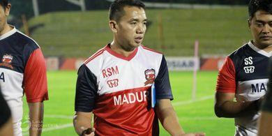 Pelatih Madura United Tak Mau Terlena Rekor Jelang Hadapi Semen Padang