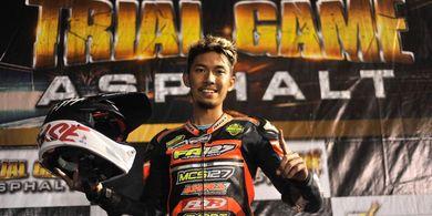 Farudila Adam Juara Putaran Keempat FFA 250 Trial Game Asphalt 2019 di Kandang Singa