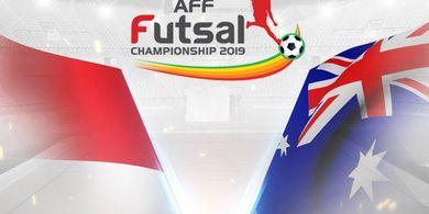 Link Live Streaming Timnas Futsal Indonesia Vs Australia, Laga Pamungkas Grup B