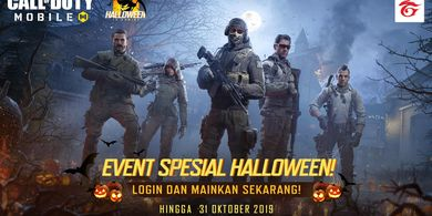 Dapatkan Senjata Permanen M21EBR (Metal Note) di Event Spesial Halloween Call of Duty Mobile