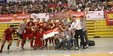 Link Streaming Final Piala AFF Futsal 2019, Thailand vs Indonesia