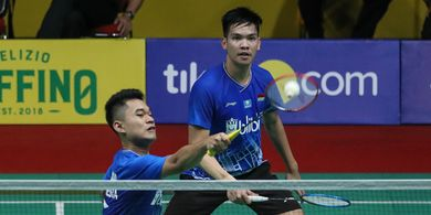 Indonesia International Challenge 2019 - Leo/Daniel ke Babak Kedua