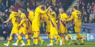 Hasil Liga Champions - Lionel Messi Cetak Sejarah, Barcelona Menang Berkat Gol Kilat