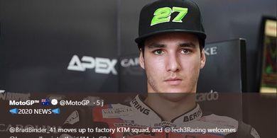 Wejangan Valentino Rossi untuk Pembalap Debutan MotoGP Valencia 2019