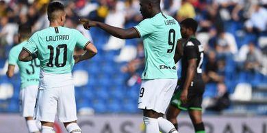 Starting XI Inter Vs Dortmund - Tuan Rumah Berharap Tuah Duo LauKaku