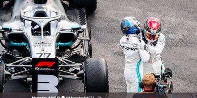 Mercedes, dari Rancang Mobil Tercepat F1 kini Produksi Alat Bantu Pasien Virus Corona