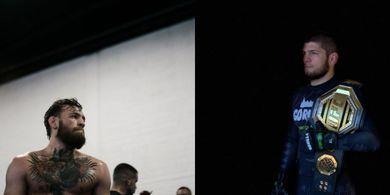 Pesan dari Khabib Nurmagomedov untuk Conor McGregor Saat Umumkan Pensiun