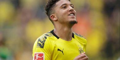 Borussia Dortmund Kirim Pesan ke Manchester United soal Transfer Jadon Sancho