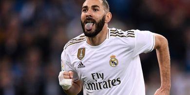 Karim Benzema Patok Tiga Poin Penuh pada Laga Perdana Real Madrid