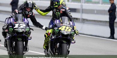 Maverick Vinales Pertanyakan Alasan Valentino Rossi Selalu Tersenyum