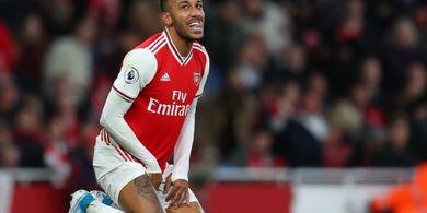 Aubameyang Akan Pergi dari Arsenal Setelah Tolak Perpanjang Kontrak