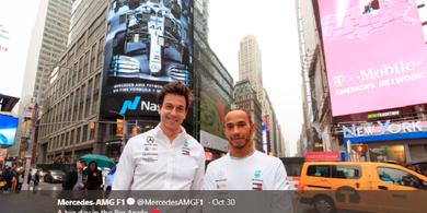 Bos Mercedes Belum Mau Beberkan Masa Depannya dan Lewis Hamilton