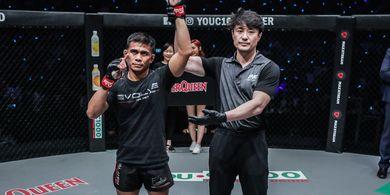 Menang Laga ONE Championship di Jakarta, Eko Roni Saputra Siap Lawan Siapa pun
