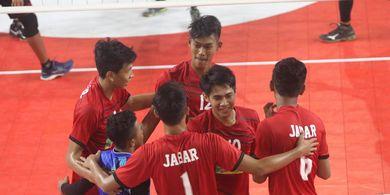 Kejurnas Bola Voli Junior 2019 - Tim Putri Jabar Hadapi DKI pada Perebutan Juara Grup